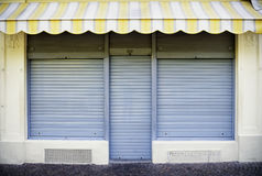 Old store front. Space for text Royalty Free Stock Image