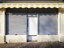 Old store front. Space for text Royalty Free Stock Photo
