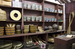 Old store model Heritage Museum Hong Kong Royalty Free Stock Photo