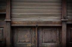 Old Store Roller Shutter Door Stock Photos