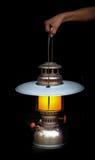 Old storm lantern Stock Photo