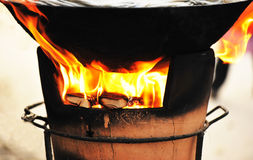 Old stove Stock Images