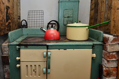 Old stove Royalty Free Stock Images