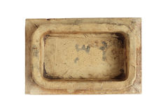 Old stove tile Stock Photography