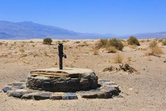 Old Stovepipe Wells Royalty Free Stock Image