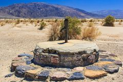 Old Stovepipe Wells Royalty Free Stock Photos