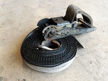 Old straps truck. Detail dirty old straps truck Royalty Free Stock Image