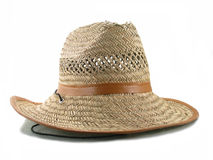 Old straw hat Stock Photos