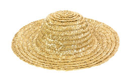 Old straw hat Royalty Free Stock Photography