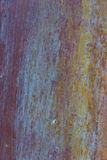 Old, streaked, painted and weathered metal background. Texture Royalty Free Stock Images