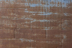 Old, streaked, painted and weathered metal background. Texture Royalty Free Stock Photos