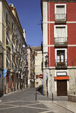 Old street in Alicante. Spain Stock Image