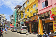 Old street in amoy city Stock Images