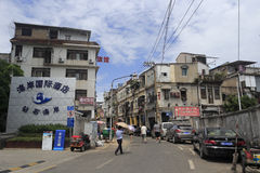 Old street in amoy city Royalty Free Stock Image