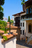 Old street in Antalya, Turkey Stock Photography