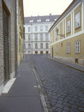 Old street in Budapest. Stock Images