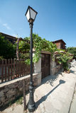 Old street in the Bulgarian town of Sozopol Stock Images