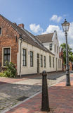 Old street in the center of Leer Stock Images