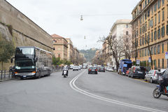 Old street in center of Rome Royalty Free Stock Image