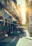 Old street of Centro in Rio de Janeiro stock photography