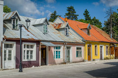 Old street at Cetinje center. Montenegro Stock Images