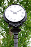 Old street clock. Royalty Free Stock Photos