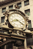 Old street clock in downtown Pittsburgh. Pennsylvania Stock Photos