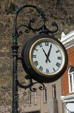 Old street clock Stock Images