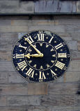 Old Street Clock Royalty Free Stock Image