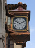 Old street clock Royalty Free Stock Photography