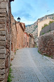 Old street, Collbato, Spain Stock Photos