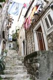 Old street in Dubrovnik Stock Photography
