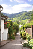 Old street in Durnstein, Austria Royalty Free Stock Photos