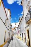 Old street of Elvas, Portugal Stock Image