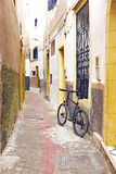 Old street in Essaouira Morocco Royalty Free Stock Photo