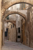 An old street of Essaouira Stock Photo