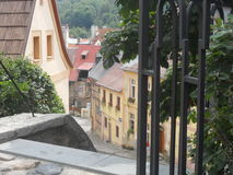 Old town. In Europe in Czech Republic Stock Images