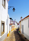 Old street in Evora Royalty Free Stock Image