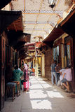 Old street in Fez, Morocco Stock Photography