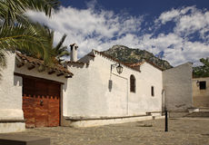 Old street in Galtelli. Sardinia. Italy Royalty Free Stock Image
