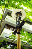 Old street gas lamp Stock Photography