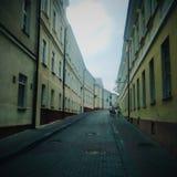 Old street. In Grodno Stock Image