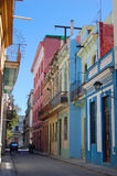 Old street havana Stock Images