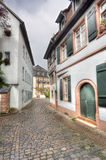 Old Street in Heidelberg, Germany Stock Image