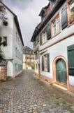Old Street in Heidelberg, Germany Stock Image