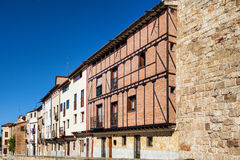 Old street in the historic center of Salamanca Royalty Free Stock Photography