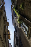 Old street house in sibenik Royalty Free Stock Photo