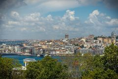 Old street in Istanbul stock image