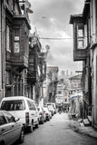 Old street in istanbul Royalty Free Stock Image
