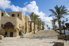 Old street of Jaffa Royalty Free Stock Photography